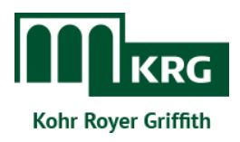 Kohr Royer Griffith Logo