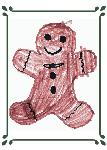 Click here for more information about Holiday Card - Gingerbread Man